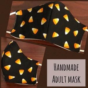 🌼NEW Candy corn Handmade Adult face mask